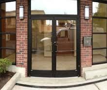 Commercial Aluminum Glass Doors Commercial Door Repair