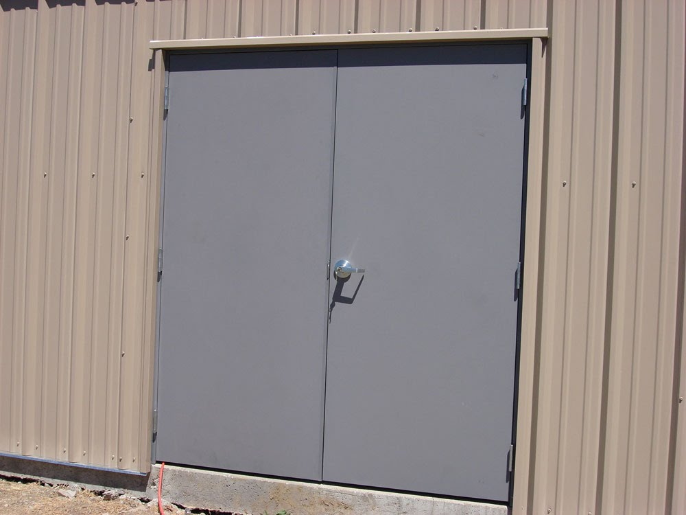 How To Choose The Right Steel Doors For Your Commercial